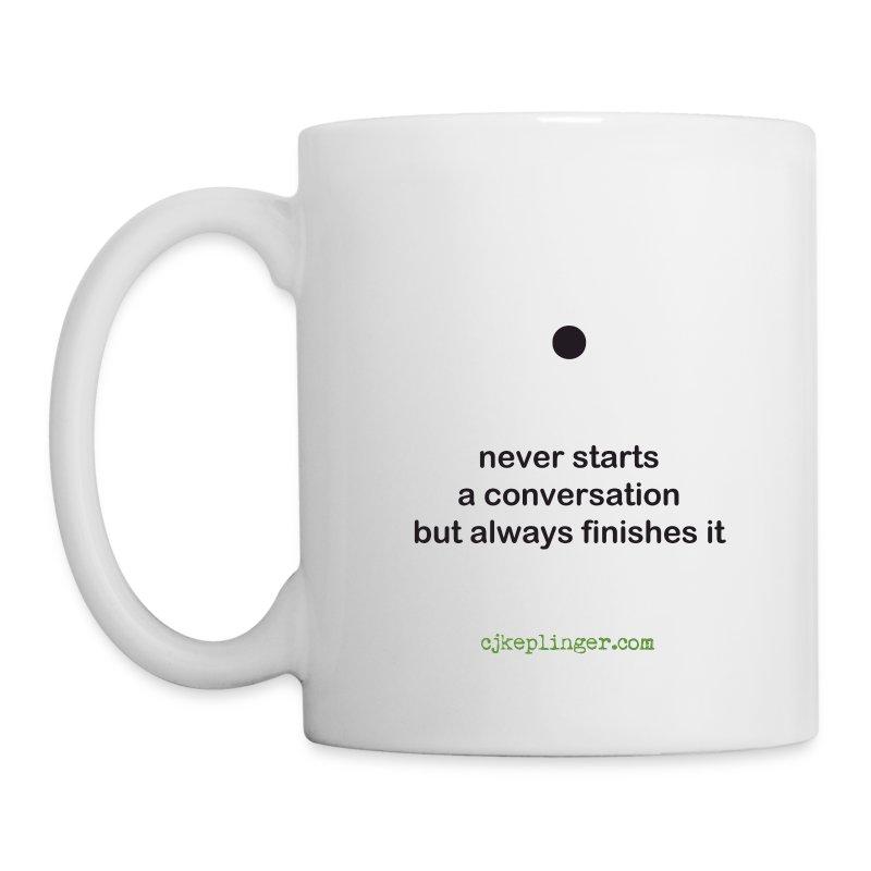 Punctuation Personality: Period Mug - Coffee/Tea Mug