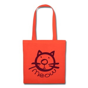 Meow cat Tote Bag - Tote Bag