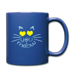 meow love cat Full Color Mug - Full Color Mug