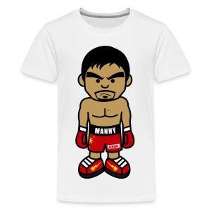 Angry Manny Kids Tee Shirt by AiReal Apparel - Kids' Premium T-Shirt