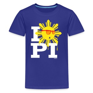 I Love The Philippines Yeezy Kids Tee Shirt by AiReal Apparel - Kids' Premium T-Shirt