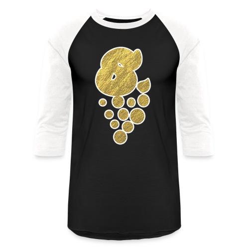 GOLD/ WHITE TRIM  - Baseball T-Shirt