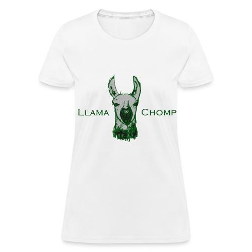LlamaChomp Women's Tee by Xeralt - Women's T-Shirt