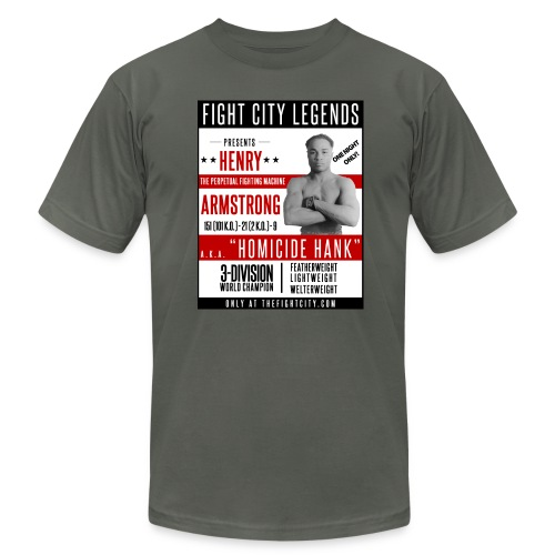 Fight City Legends: Henry Armstrong Edition - Men's Fine Jersey T-Shirt