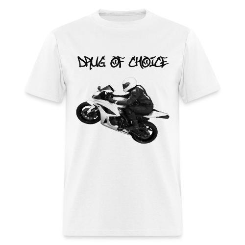 CycleCruza's Drug of Choice T-Shirt - All Colors! - Men's T-Shirt