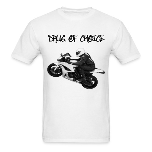 CycleCruza's Drug of Choice T-Shirt - All Colors! - Men's T-Shirt