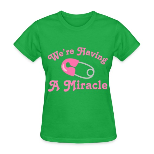 Woman having a miracle - Women's T-Shirt