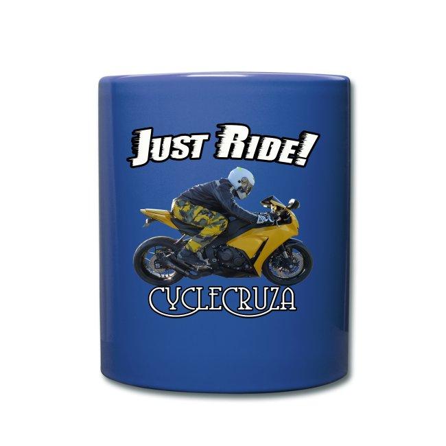CycleCruza Just Ride Mug