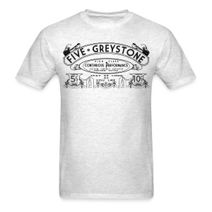 Five Greystone Men's Band Tee - Men's T-Shirt