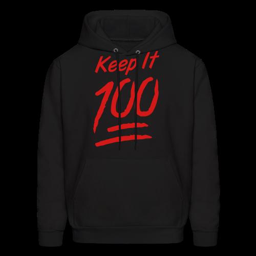 Keep It 100 Hoodie - Men's Hoodie