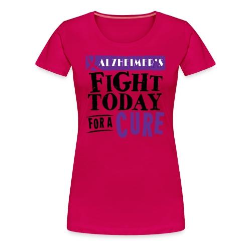Women's T-shirt Alzheimer's - Women's Premium T-Shirt