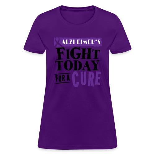 Women's T-shirt Alzheimer's - Women's T-Shirt
