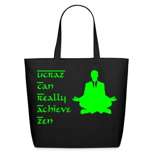 Zen Businessman eco bag - Eco-Friendly Cotton Tote