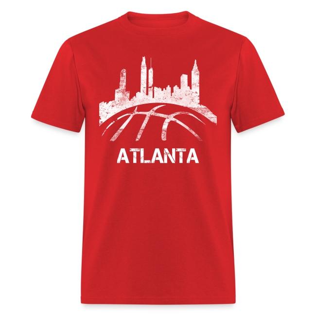 Atlanta Basketball Skyline