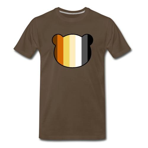 Bear head shirt - Men's Premium T-Shirt