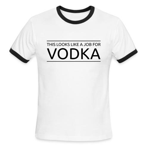 Vodka Job - Men's Ringer T-Shirt