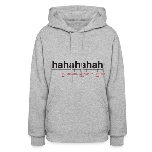 Breaking Down Laughter Women's Hooded Sweatshrit - Women's Hoodie