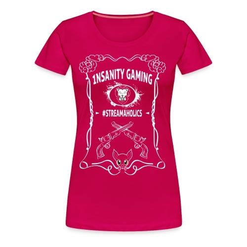 Custom Made 1nsanityGaming T-Shirt (woman) - Women's Premium T-Shirt