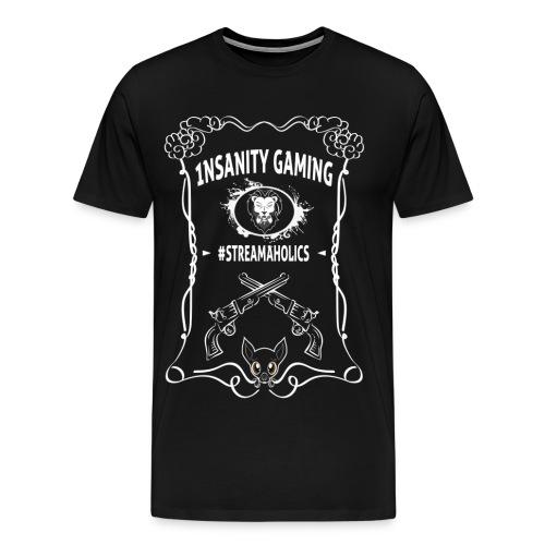 Custom Made 1nsanitygaming T-Shirt (Men) - Men's Premium T-Shirt