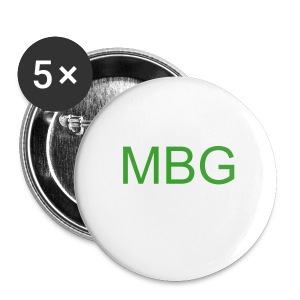 MBG Button (5 Pack) - Large Buttons