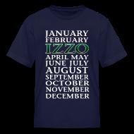 Kids' Shirts ~ Kids' T-Shirt ~ Sparty Months