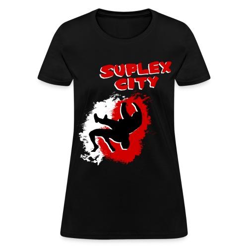 Suplex City (Womens) - Women's T-Shirt