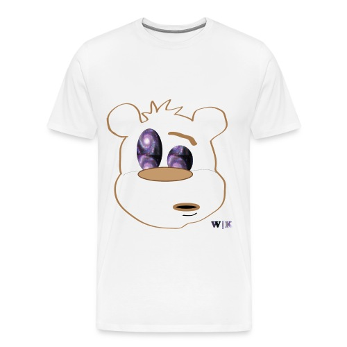 Beary Spacey - Men's Premium T-Shirt