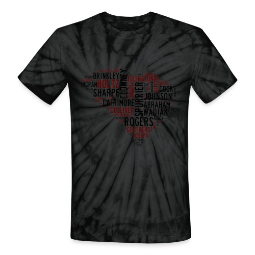 All Time South Carolina Football Greats Unisex Tie Dye T-Shirt - Unisex Tie Dye T-Shirt