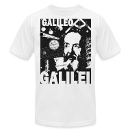 T-Shirts ~ Men's T-Shirt by American Apparel ~ Galileo Galilei