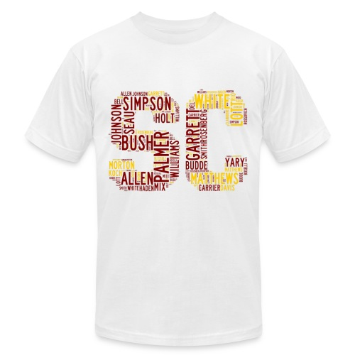 All Time SoCal Football Greats SC Design Men's T-Shirt - Men's Fine Jersey T-Shirt
