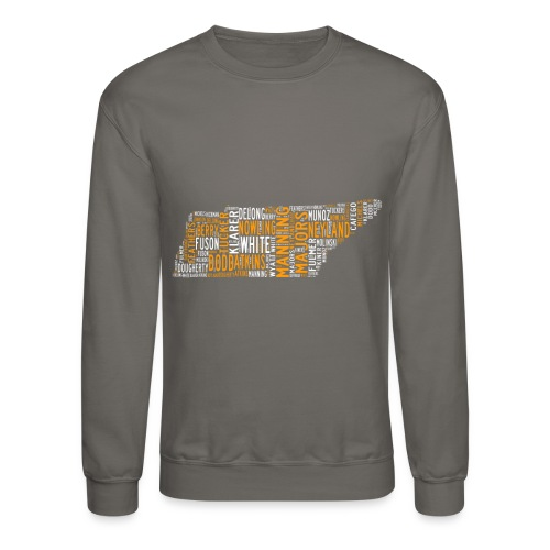 All Time Tennessee Football Greats Men's Crewneck Sweatshirt - Crewneck Sweatshirt