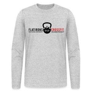 Men's Long Sleeve Logo Tee - Men's Long Sleeve T-Shirt by Next Level