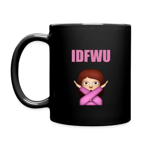 IDFWU Mug (Black) - Full Color Mug