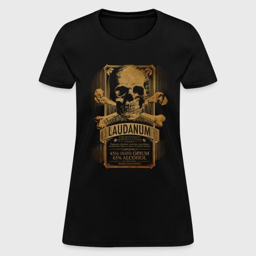 Goth Steampunk Medicine Skull - Women's T-Shirt