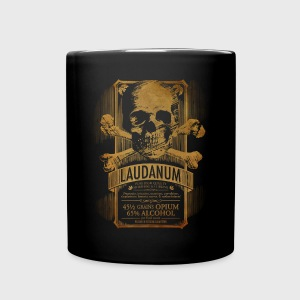 Goth Steampunk Medicine Skull - Full Color Mug
