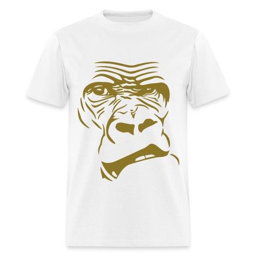 white APE face tee - Men's T-Shirt