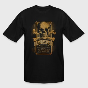 Goth Steampunk Medicine Skull - Men's Tall T-Shirt