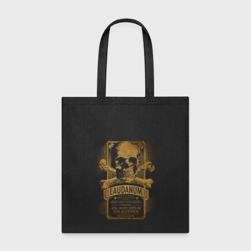 Goth Steampunk Medicine Skull - Tote Bag