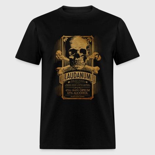 Goth Steampunk Medicine Skull - Men's T-Shirt