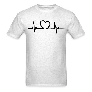 Heartbeat men's tee - Men's T-Shirt