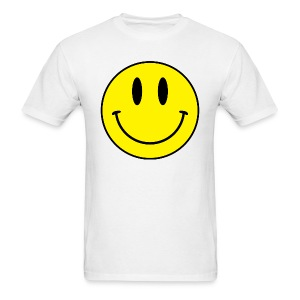 Smiley men's tee (light) - Men's T-Shirt