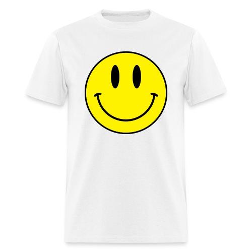 Smiley men's tee (light) - Men's T-Shirt