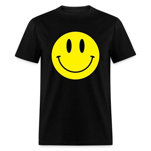 Smiley men's tee (dark) - Men's T-Shirt