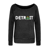 Long Sleeve Shirts ~ Women's Wideneck Sweatshirt ~ Detroit San Marino