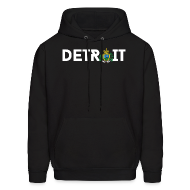 Hoodies ~ Men's Hooded Sweatshirt ~ Detroit San Marino
