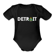 Baby & Toddler Shirts ~ Baby Short Sleeve One Piece ~ Detroit San Marino