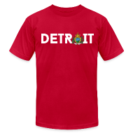 T-Shirts ~ Men's T-Shirt by American Apparel ~ Detroit San Marino