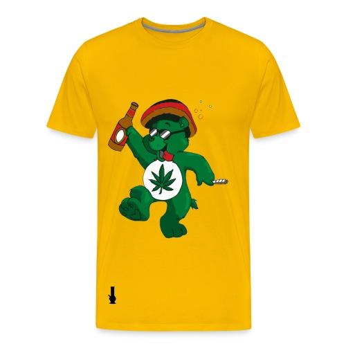 Pot Bear Tee - Men's Premium T-Shirt
