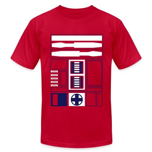 Atlanta Basketball Droid (M) - Men's  Jersey T-Shirt