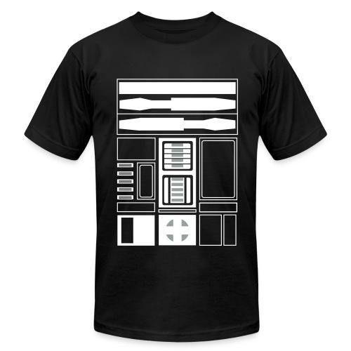 Brooklyn Basketball Droid (M) - Men's Fine Jersey T-Shirt